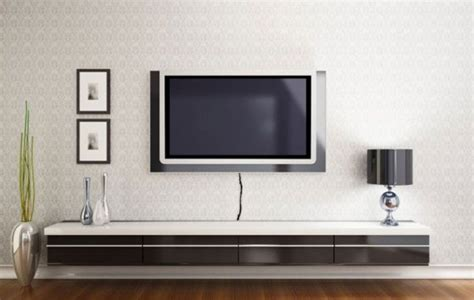 tv on the wall ideas wall shelves floating shelves under wall mounted tv