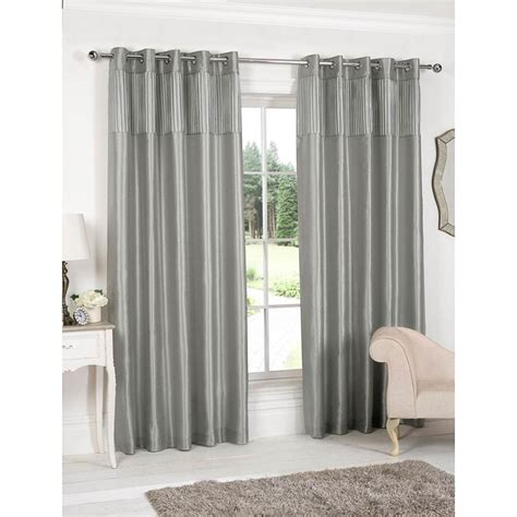 curtain retailers uk pleated top border fully lined curtain curtains b m