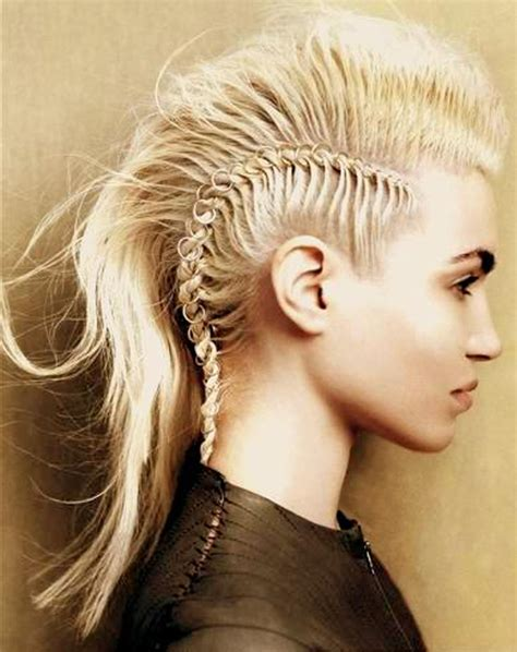 braided hairstyles in a mohawk braided mohawk hairstyles beautiful hairstyles
