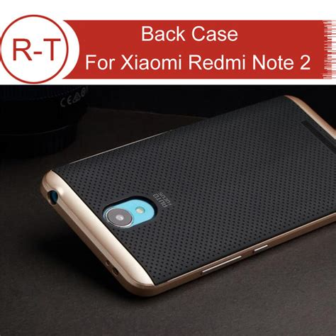 Casing Anticrack Redmi Note 44x for xiaomi redmi note 2 high quality tpu pc protective back cover with frame for