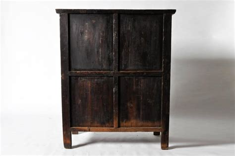 Bi Fold Cabinet Doors Oxblood Lacquer Cabinet With Bi Fold Doors For Sale At 1stdibs