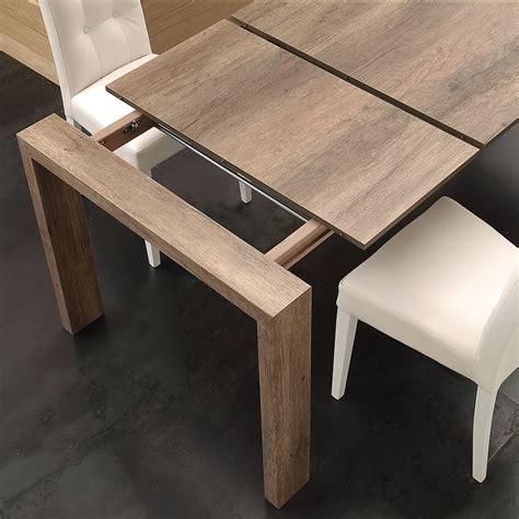 tavolo moderno in legno tavolo allungabile moderno in legno con 2 allunghe colore