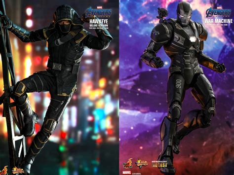 collectables news hot toys endgame figures