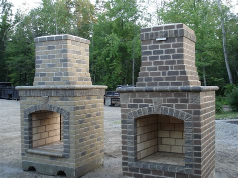 Small Brick Fireplaces by Outdoor Fireplace Building Plans House Plans