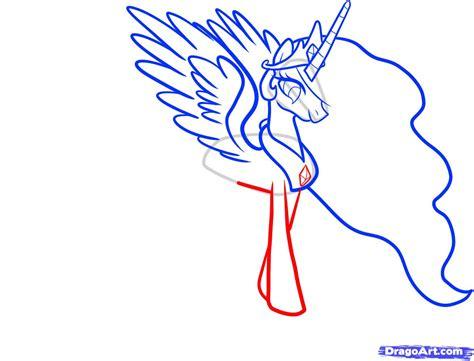 my doodle drawings how to draw celestia celestia my pony step by