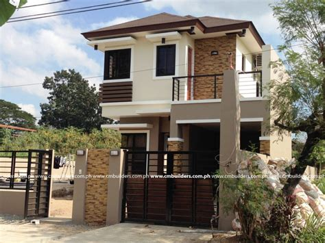 compact house design modern zen house design philippines simple small house