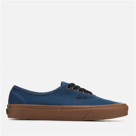 Kickers Gum Sole Black vans s authentic gum sole trainers denim black