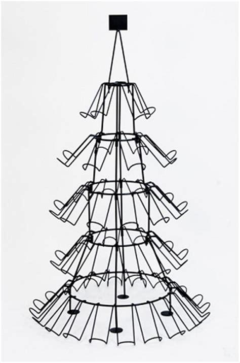 christmas tree wine bottle display rack 3912