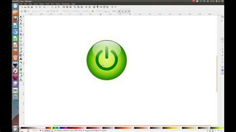 inkscape tutorial button inkscape tutorial 01 shiny button youtube