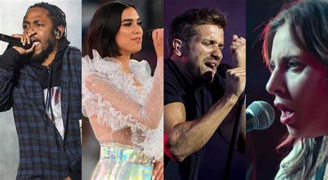 grammys 2018 nominados fecha artistas canciones lista completa de nominados a los premios grammys 2019 la lista completa con todos los nominados vos