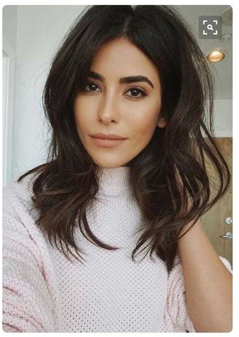 the nice styling for medium length hairstyles for wavy hair by letting latest medium haircuts all the stylish ladies should see