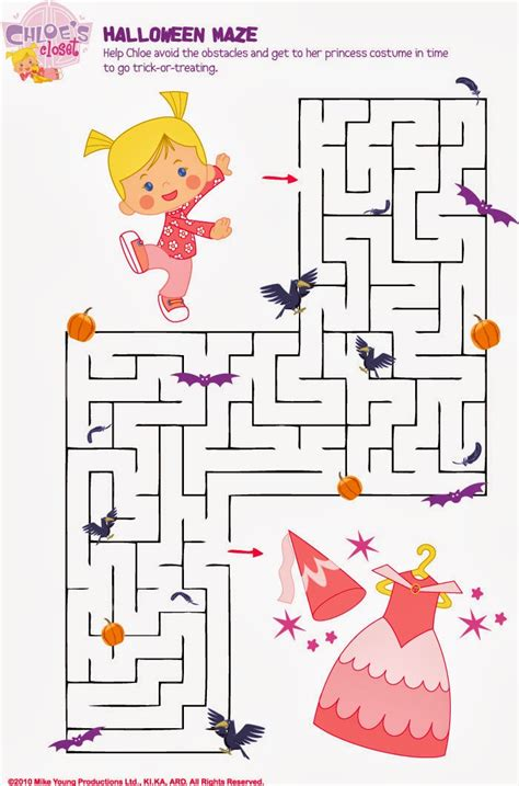 halloween maze printable easy 5 halloween maze printable easy for kids