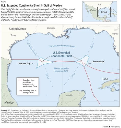 Gulf Of Mexico Continental Shelf by U S Accession To U N Convention On The Of The Sea