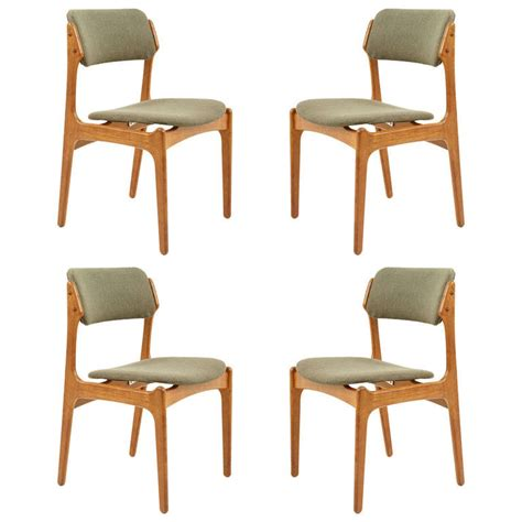beautiful dining room chairs beautiful set of four teak dining chairs by erik buck 302