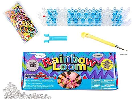 Ori Rainbow Loom Starter Kit With Metal Hook rainbow loom crafting kit includes loom metal hook mini