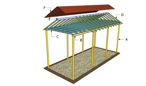 Wood Rv Carport Plans