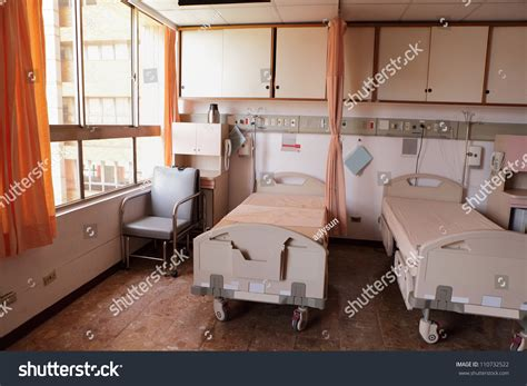 how to make hospital bed more comfortable comfortable equipped hospital room bed stock photo