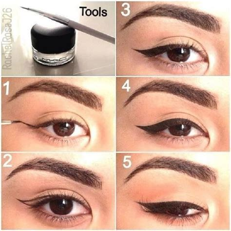 eyeliner tutorial gel liner top 10 eyeliner tutorials for irresistable cat eyes top