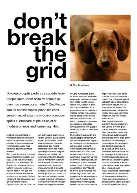 magazine columns and their layout options magazine designing page layouts baseline grid and columns daniellemassey93