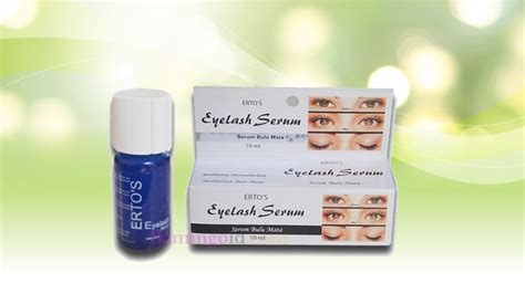 Serum Dari Ertos ertos eyelash serum produk ertos care penumbuh