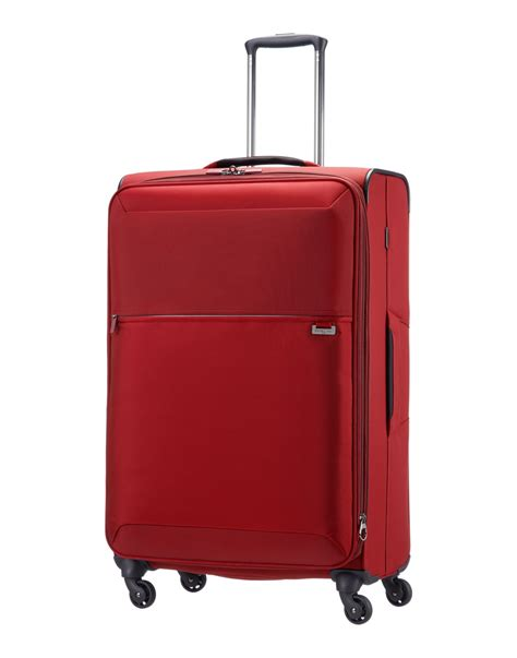 Gorgeous Red Suitcases | red suitcases samsonite wheeled luggage in red for men