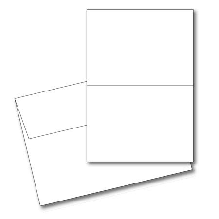 blank greeting card template 5x7 50 blank greeting cards envelopes 5x7 a7 white 65lb
