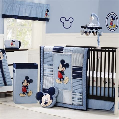 baby boy comforter sets baby boy bedding would be great for a boy or minnie for