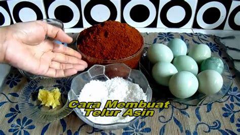 cara membuat telur asin youtube cara membuat telur asin sendiri youtube