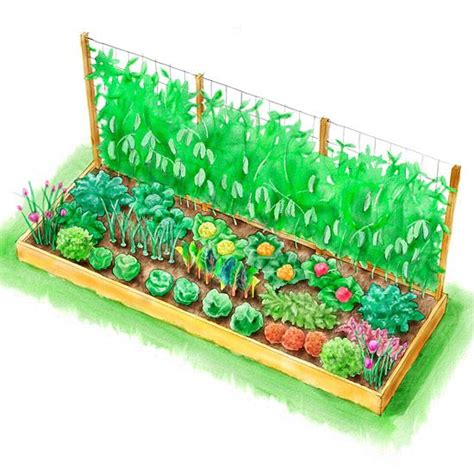 Kitchen Garden Layout Planting Plans Inspired By The White House Kitchen Garden