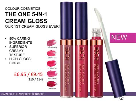 The One Bb Lip Balm By Oriflame the one 5 in 1 colour stylist gloss oriflame 187 mike cook