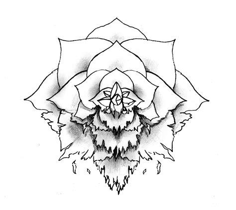 wilted rose tattoo wilting design by neogzus on deviantart