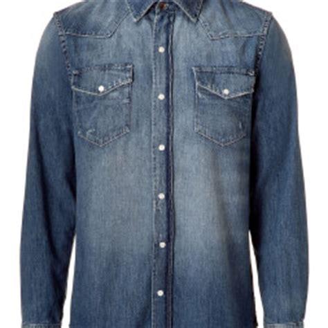 Kemeja Denim 03 konveksi bandung goodie bag seragam olahraga jas
