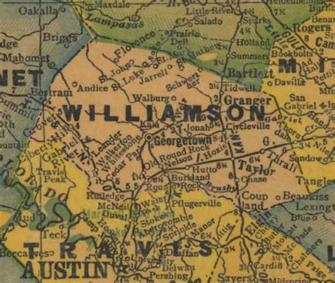 map of williamson county texas williamson county texas