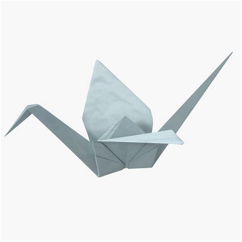 Model Origami - 3d origami crane model