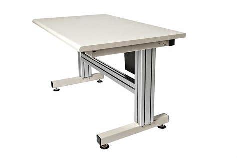hand crank adjustable height desk 4 leg hand crank adjustable height work ergosource