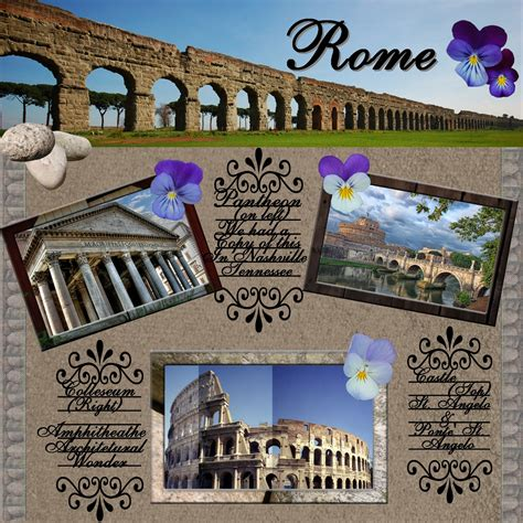 Home Design Store Nashville by The Wonder Of Rome Digital Scrapbooking At Scrapbook Flair