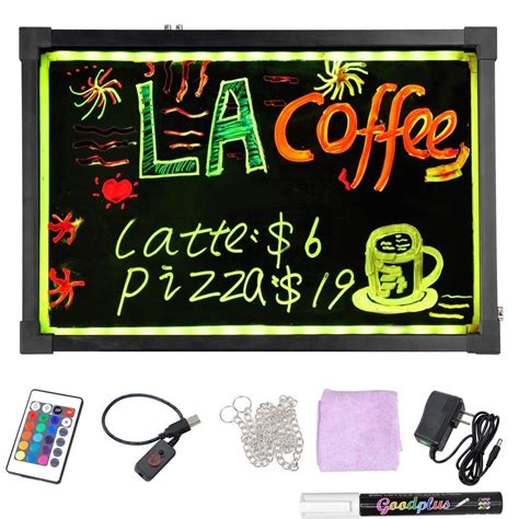Led Writing Board 40x60 Led Board High Quality Led Board With Remote Led Writing Sign Boards