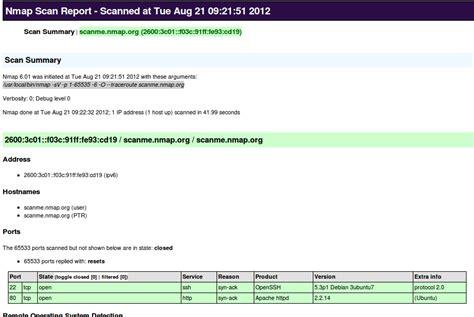 nmap port scanner port scanner using nmap hackertarget