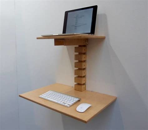 wall mounted standing desk wall mounted standing desks compact standing desk