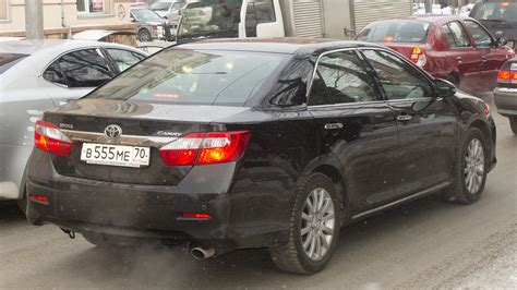 Toyota Russia ファイル Toyota Camry Xv 50 In Russian Federation Rear Jpg