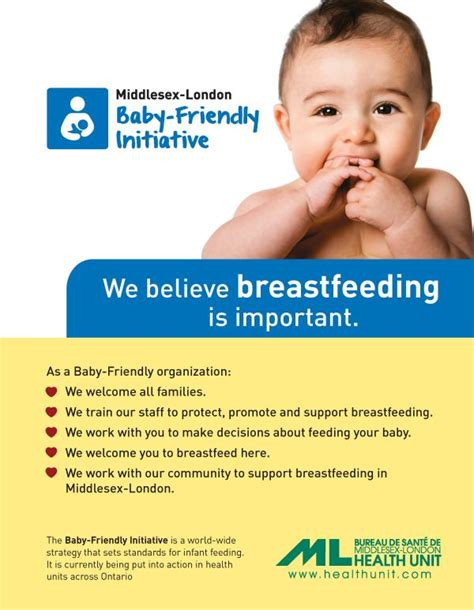 printable breastfeeding poster baby friendly initiative middlesex london health unit