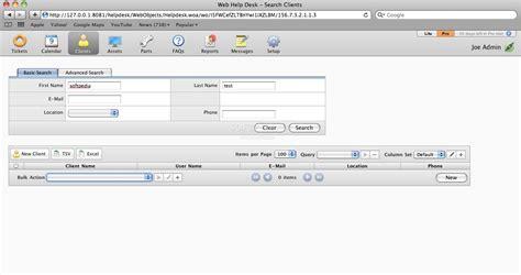 web help desk mac