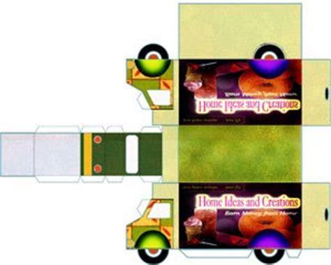 Mainan Anak Truck Aquarium Murah yustinus s paper membuat mainan truk dari kertas