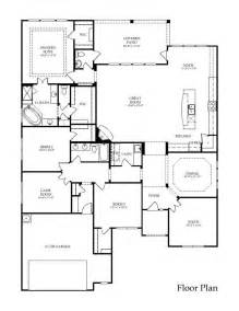 large one story house plans large one story floor plan great layout love the flow through out dream home pinterest