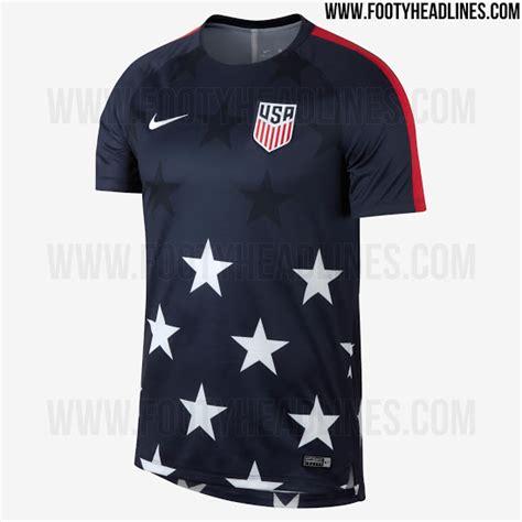jersey pattern matching stunning usa 2017 gold cup pre match shirt leaked footy
