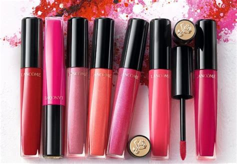 Lancome Gloss In 5 must try shades from lancome l absolu gloss