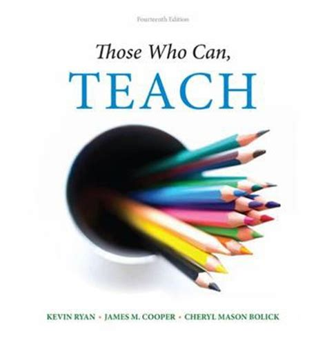 those who can teach cooper 9781305077690