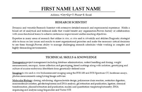 click here to this research scientist resume template http www resumetemplates101