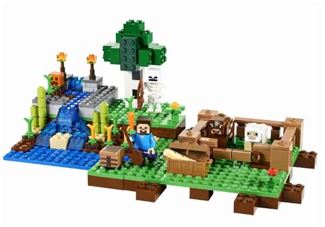 Lego Table Toys R Us Lego Minecraft Sets To Release Later This Year Ign