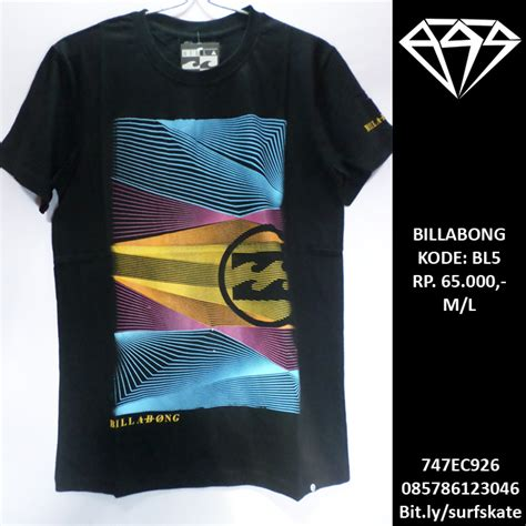 Kaos Baju Graphic baju kaos billabong t shirt tees surfskatees